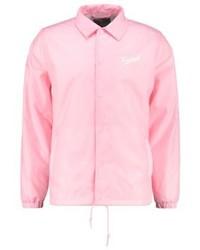 Chaqueta estilo camisa estampada rosada de Carhartt WIP