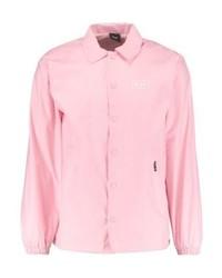 Chaqueta estilo camisa estampada rosada de HUF