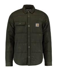 Chaqueta estilo camisa estampada verde oliva de Carhartt WIP