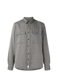 Chaqueta estilo camisa gris de A.P.C.