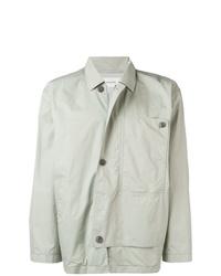 Chaqueta estilo camisa gris de Lemaire