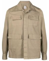 Chaqueta estilo camisa marrón claro de Eleventy