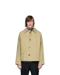 Chaqueta estilo camisa marrón claro de Kassl Editions