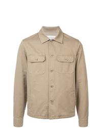 Chaqueta estilo camisa marrón claro de Maison Margiela