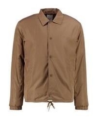 Chaqueta estilo camisa marrón claro de Wood Wood