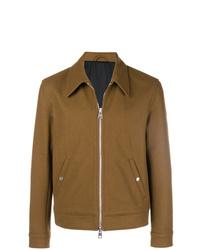 Chaqueta estilo camisa marrón de AMI Alexandre Mattiussi