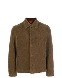 Chaqueta estilo camisa marrón de Barena