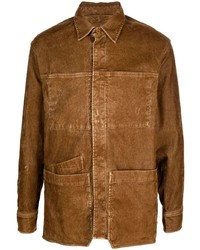 Chaqueta estilo camisa marrón de Diesel