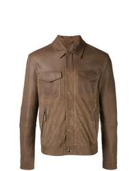 Chaqueta estilo camisa marrón de Eleventy