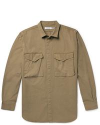 Chaqueta estilo camisa marrón de Nonnative