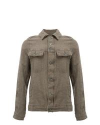 Chaqueta estilo camisa marrón de Undercover