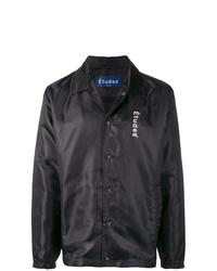 Chaqueta estilo camisa negra de Études