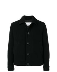 Chaqueta estilo camisa negra de AMI Alexandre Mattiussi