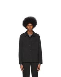 Chaqueta estilo camisa negra de Barena