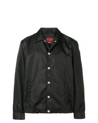 Chaqueta estilo camisa negra de Diesel