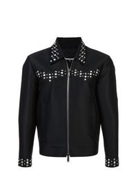 Chaqueta estilo camisa negra de DSQUARED2