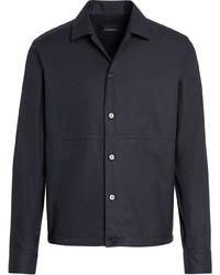 Chaqueta estilo camisa negra de Ermenegildo Zegna