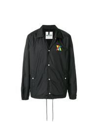 Chaqueta estilo camisa negra de Kenzo