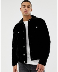 Chaqueta estilo camisa negra de Le Breve