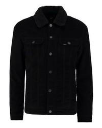 Chaqueta estilo camisa negra de Lee