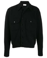 Chaqueta estilo camisa negra de Lemaire