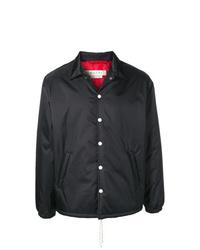 Chaqueta estilo camisa negra de Marni