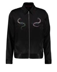 Chaqueta estilo camisa negra de Paul Smith