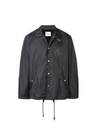 Chaqueta estilo camisa negra de Takahiromiyashita The Soloist
