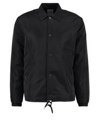 Chaqueta estilo camisa negra de Wood Wood