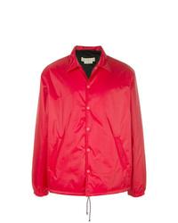 Chaqueta estilo camisa roja de Marni