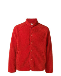 Chaqueta estilo camisa roja de YMC