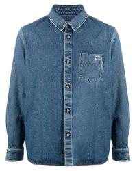 Chaqueta estilo camisa vaquera azul de A.P.C.
