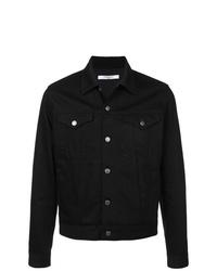 Chaqueta estilo camisa vaquera negra de Givenchy