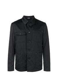 Chaqueta estilo camisa vaquera negra de Lanvin