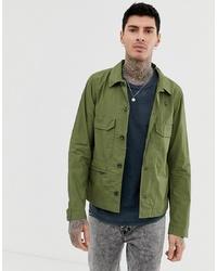 Chaqueta estilo camisa verde oliva de G Star