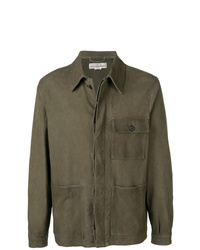 Chaqueta estilo camisa verde oliva de Golden Goose Deluxe Brand