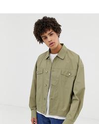 Chaqueta estilo camisa verde oliva de Noak