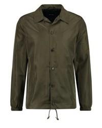 Chaqueta estilo camisa verde oliva de ONLY & SONS