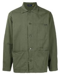 Chaqueta estilo camisa verde oliva de Polo Ralph Lauren