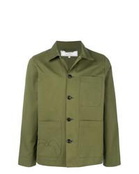 Chaqueta estilo camisa verde oliva de Societe Anonyme