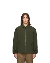 Chaqueta estilo camisa verde oliva de The Very Warm
