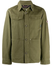 Chaqueta estilo camisa verde oliva de Tommy Jeans