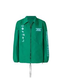 Chaqueta estilo camisa verde de Lanvin