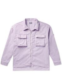 Chaqueta estilo camisa violeta claro de Cav Empt