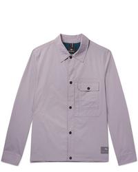 Chaqueta estilo camisa violeta claro de PS Paul Smith