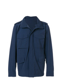 Chaqueta militar azul marino de Aspesi