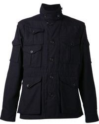 Chaqueta militar azul marino de Engineered Garments