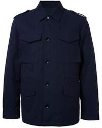 Chaqueta militar azul marino de Kent & Curwen