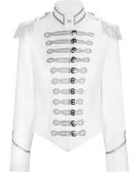 47f0aa4c573b3 Comprar una chaqueta militar blanca  elegir chaquetas militares ...