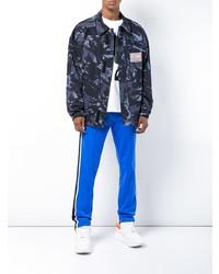 Chaqueta militar de camuflaje azul marino de Martine Rose